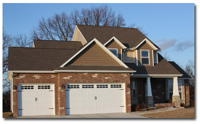 Image Of Home At Wendell Creek Estates 2 Story 3 Car Garage Has New Homes Available In Troy Il St Jacob Illinois